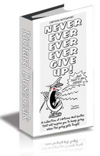 Never Ever Ever Give Up ebook cover